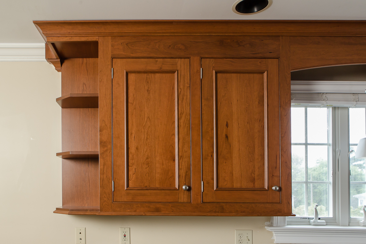 Applied Moulding Cherry Cabinet Doors