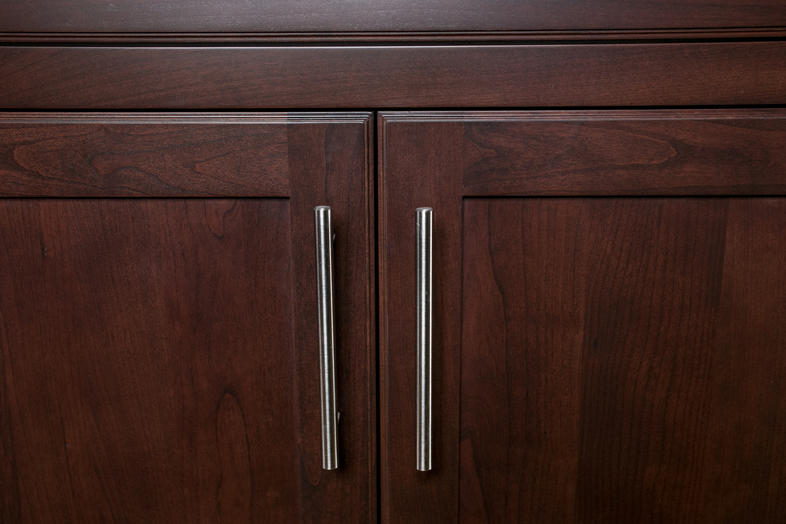 Contemporary Cherry Kitchen Pulls