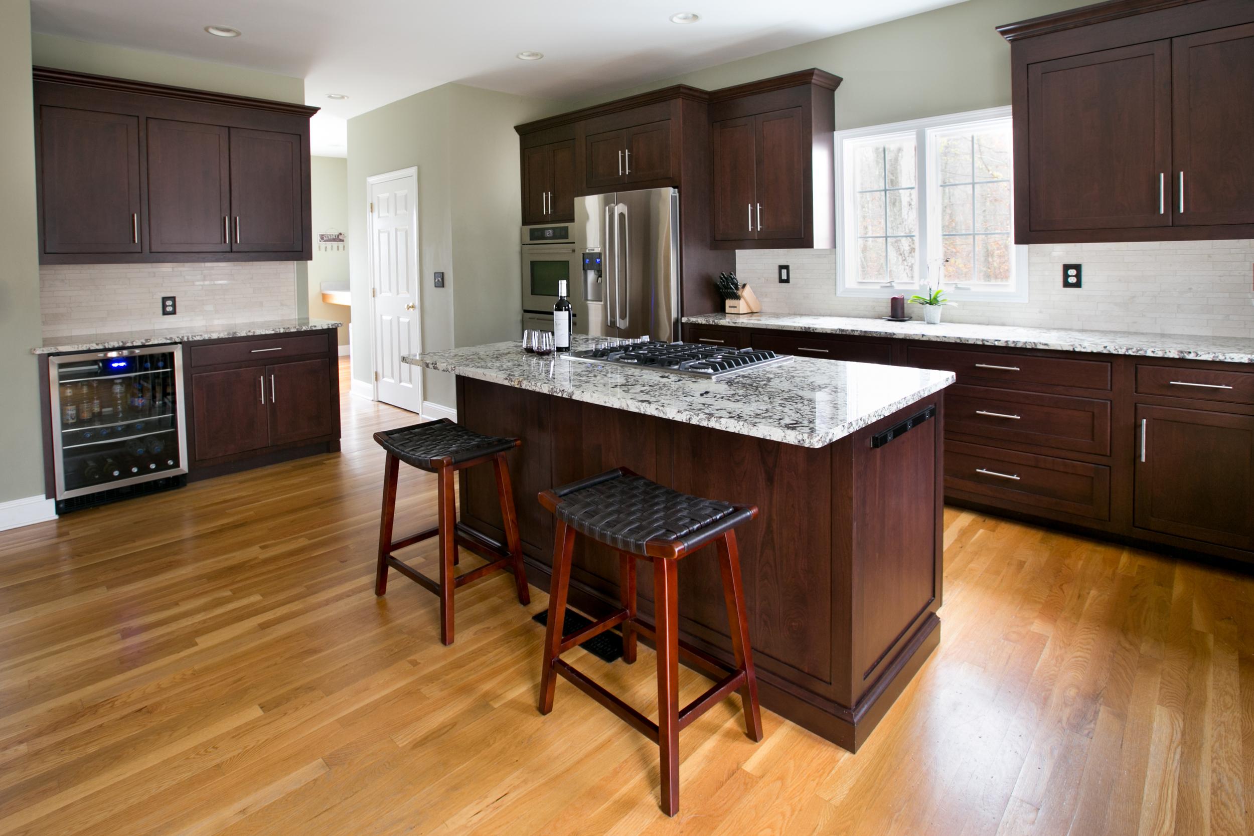 Redesigning Your Kitchen Dark Cherry