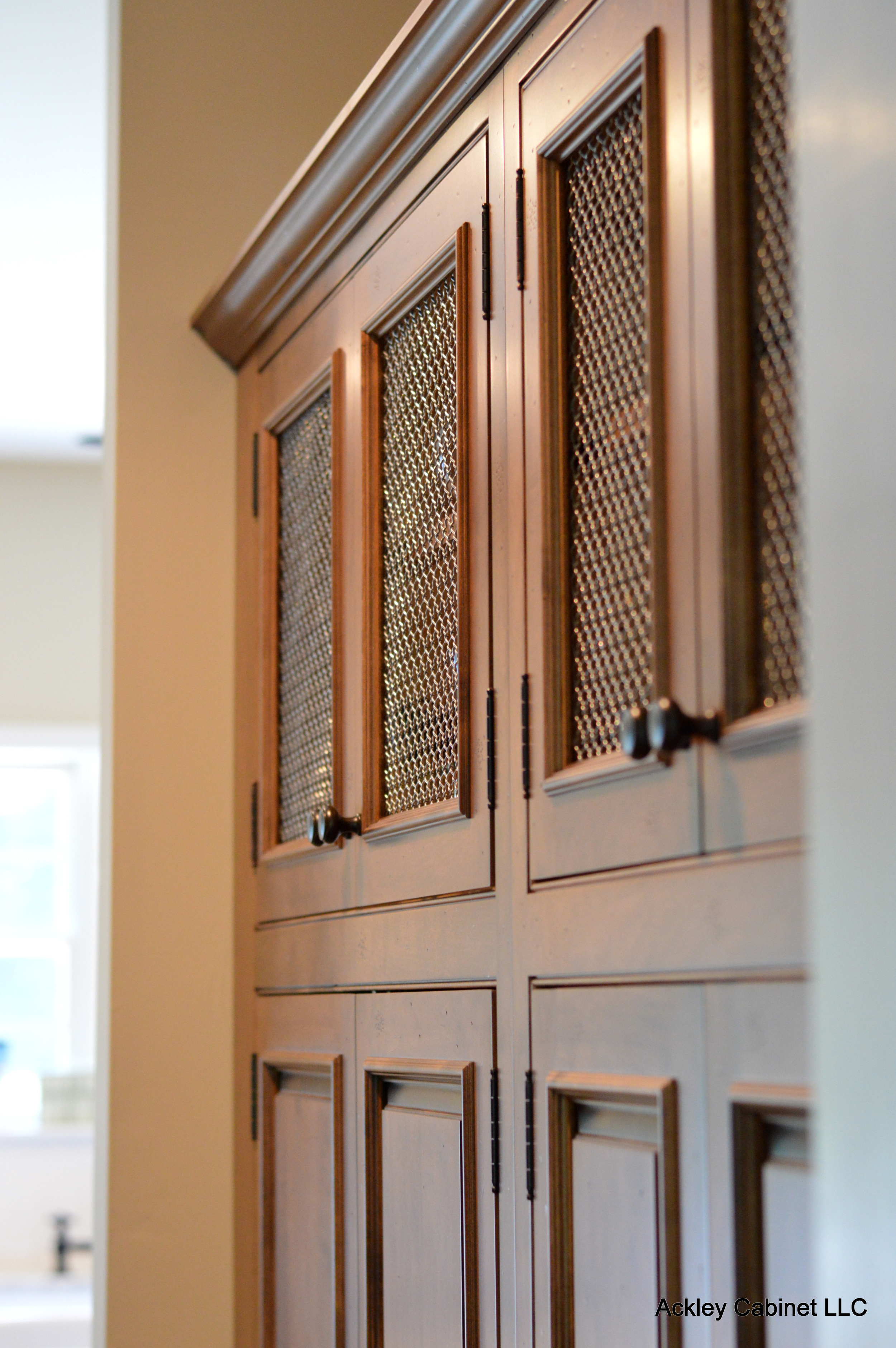 Accent Wood Pantry Cabinets