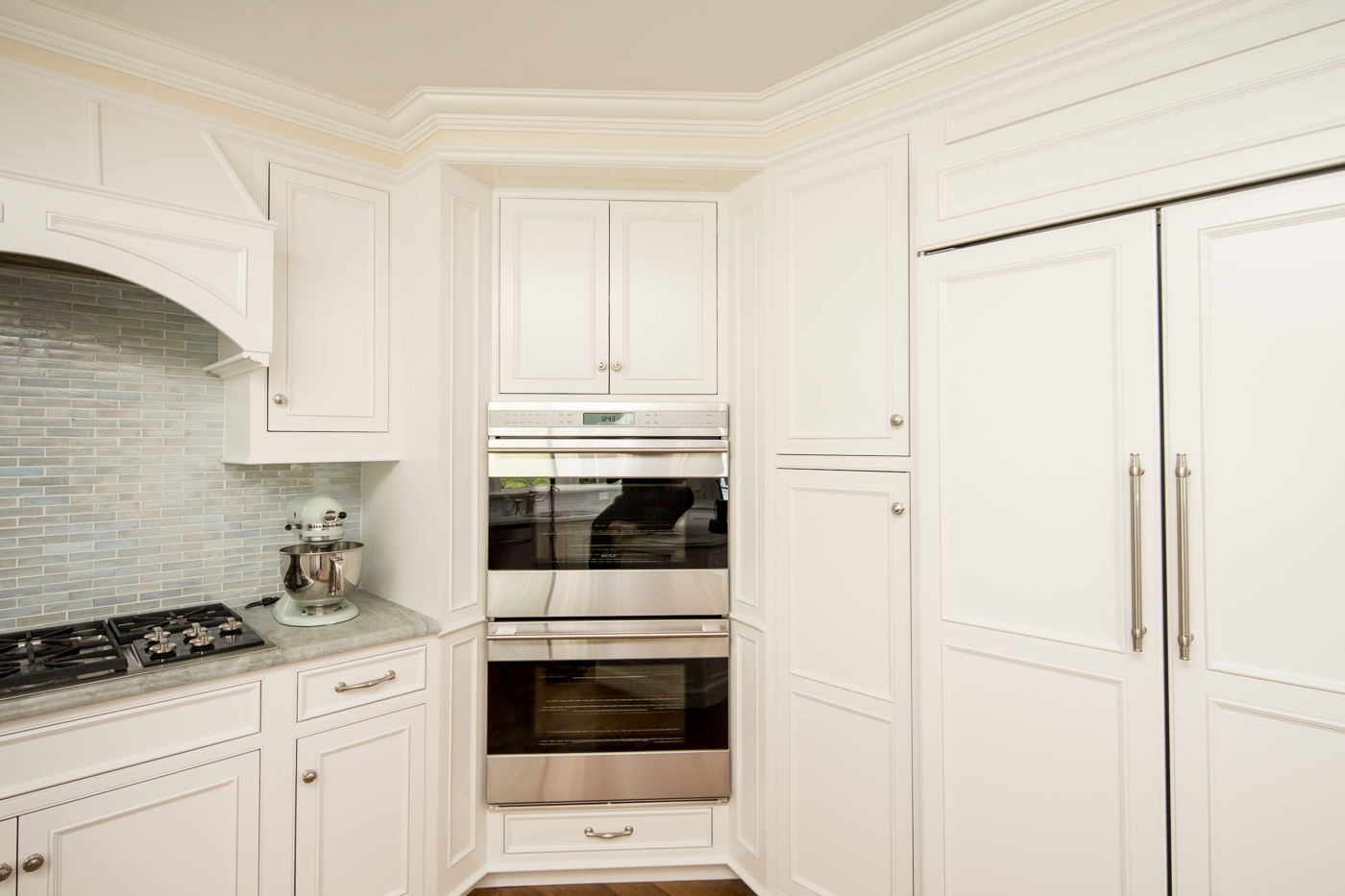 Kitchen Cabinet Stainless Steel Double Wall Oven
