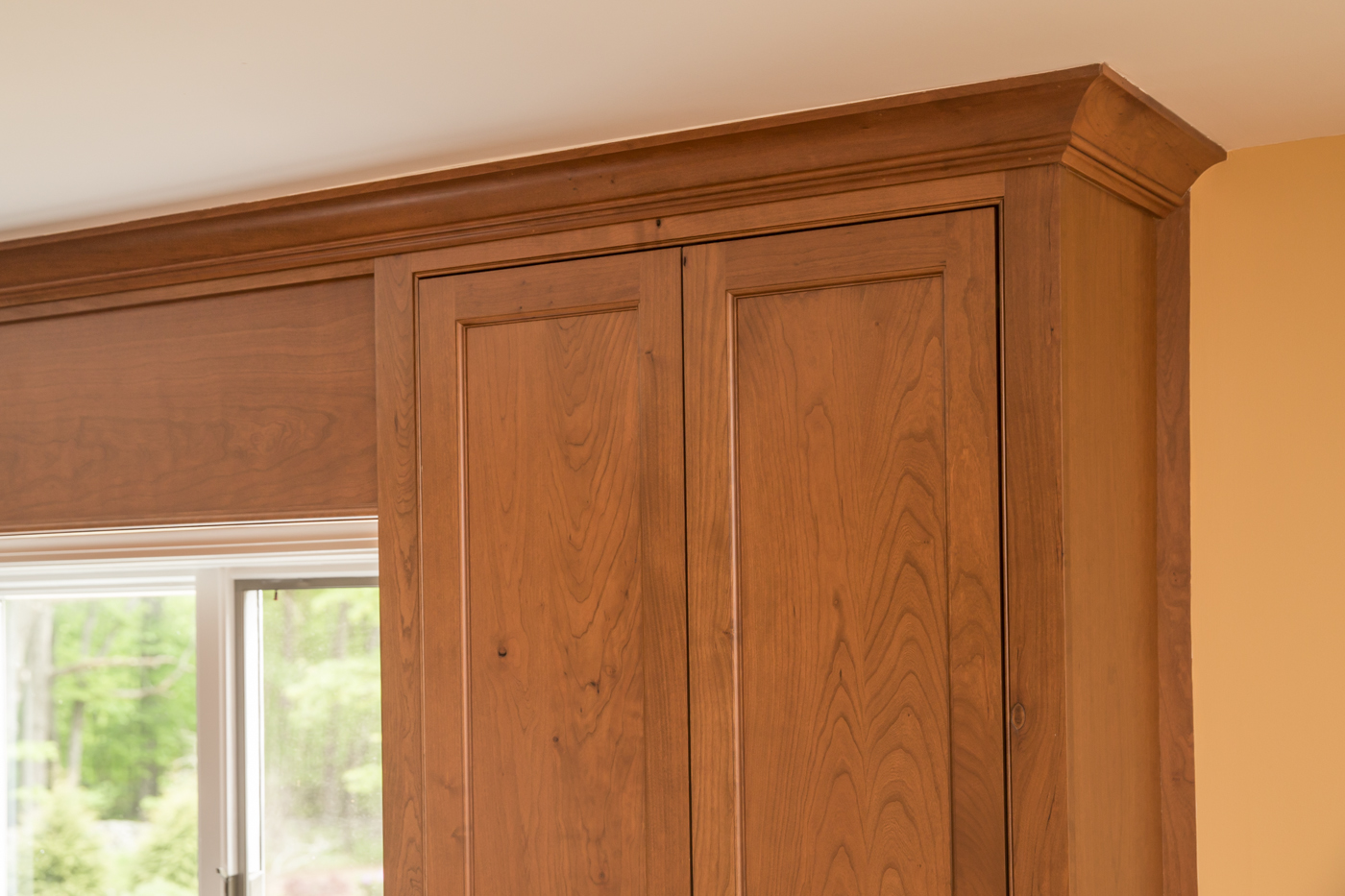 Cherry Kitchen Cabinet Crown Moulding