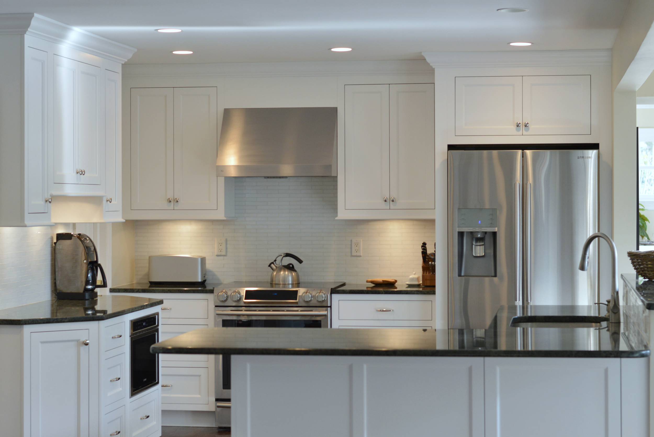 DARIEN CT - KITCHEN CABINET REMODEL (AFTER) | Ackley Cabinet LLC