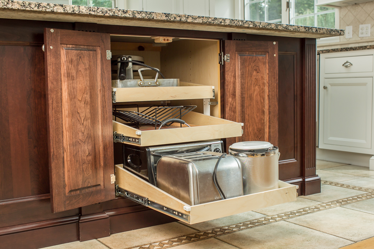 Kitchen Cabinet Storage Solutions & Enhancements — Ackley ...
