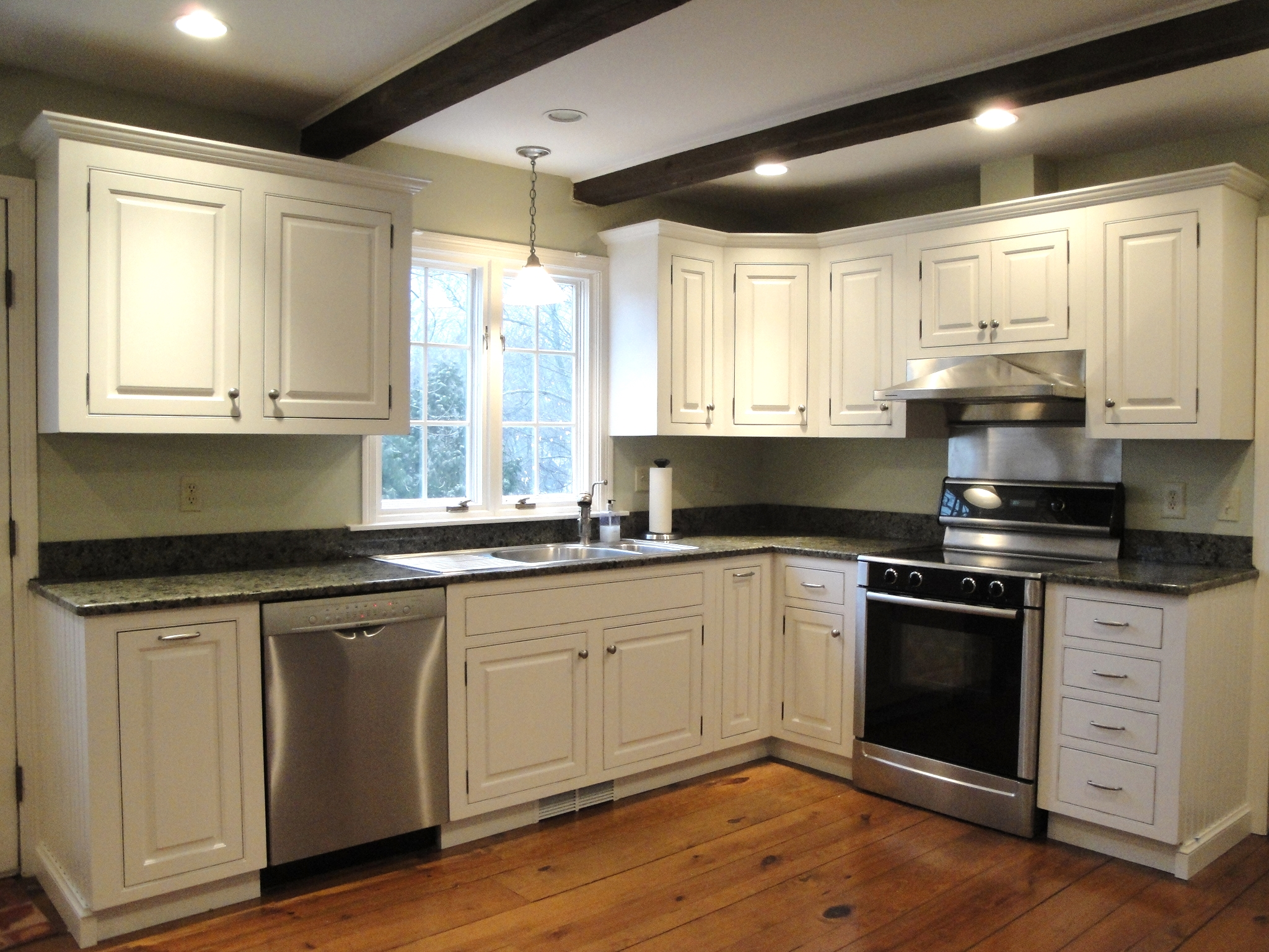 white cherry kitchen