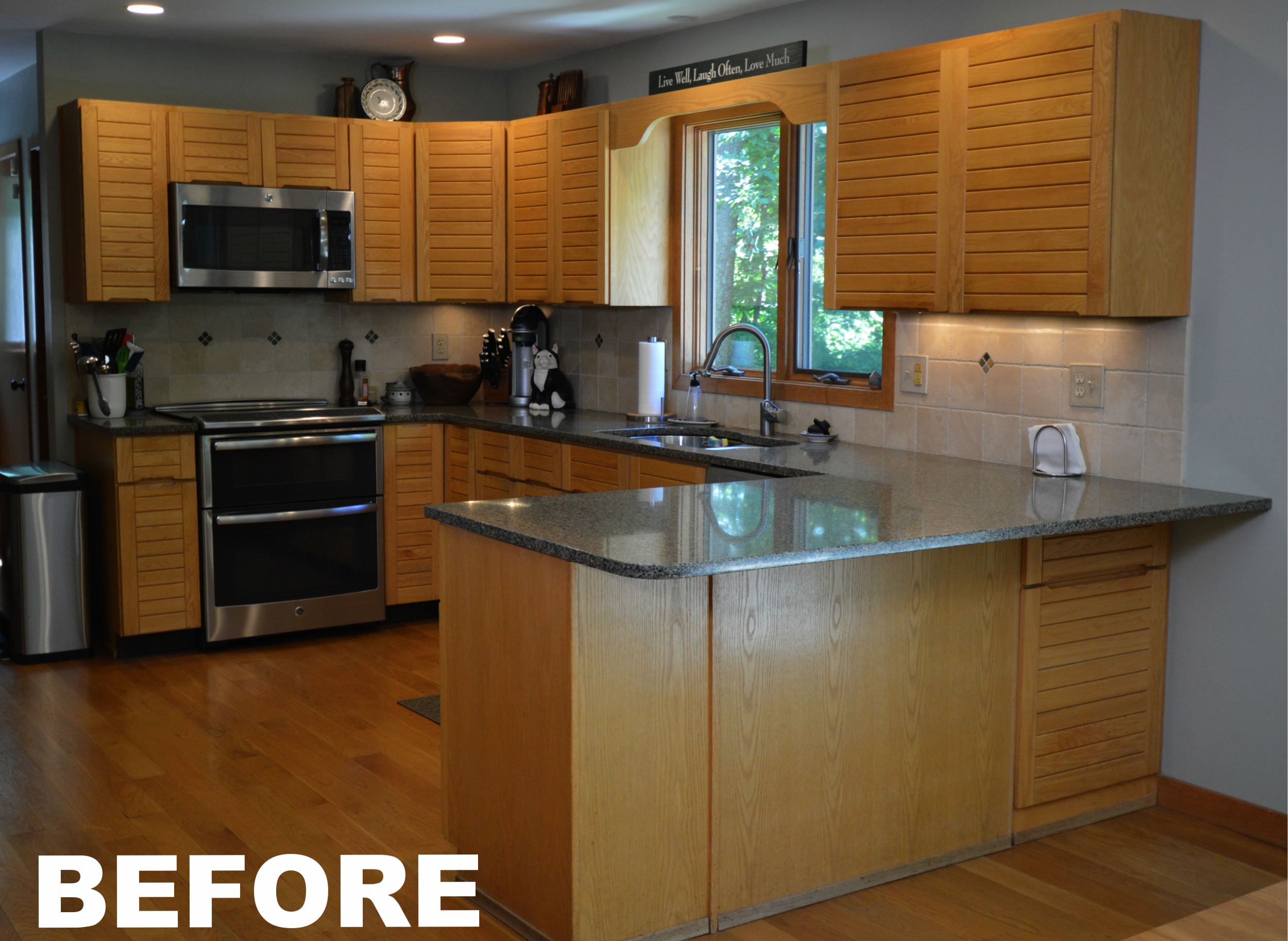 Ackley Cabinet - BEFORE Kitchen