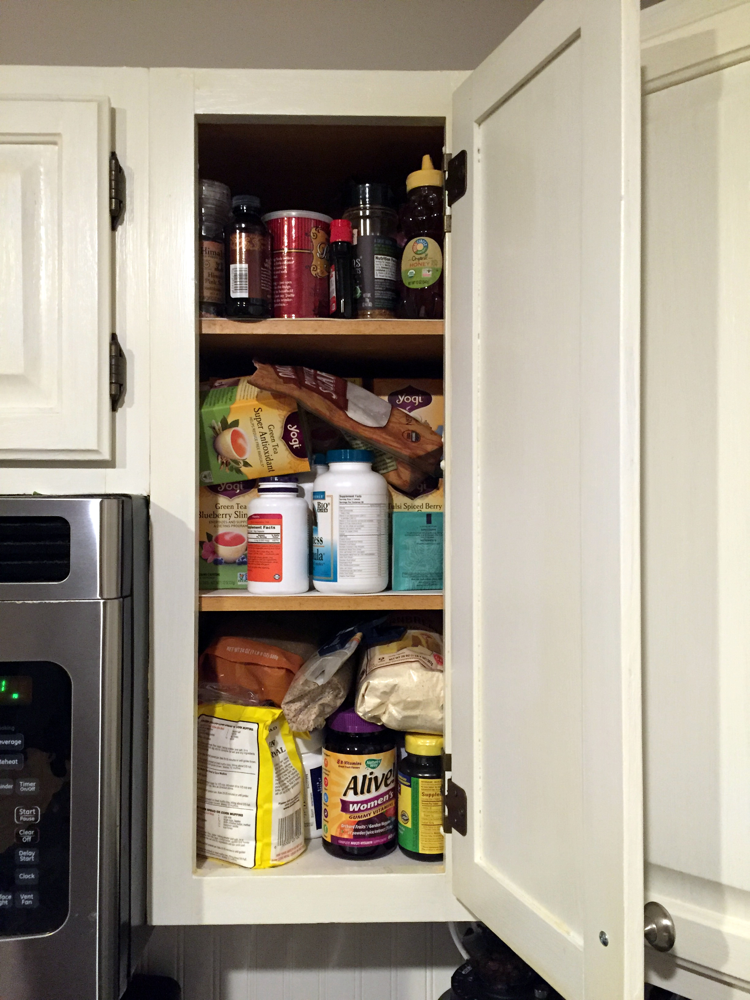 Stuffed Upper Cabinet