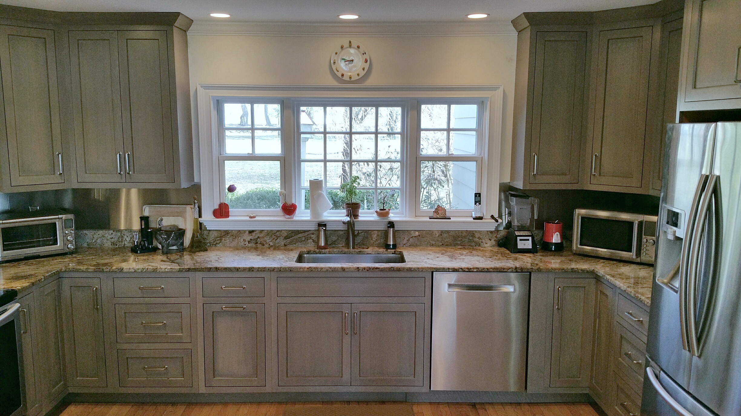 Driftwood Grey Cabinets