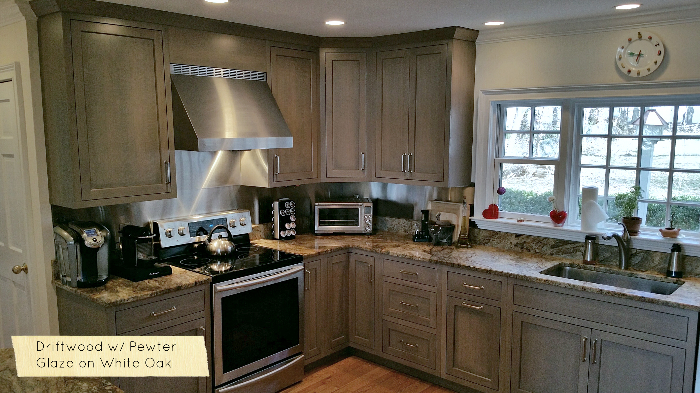 New Kitchen Cabinet Colors And Driftwood Grey Stains 2018 Ackley Cabinet Llc