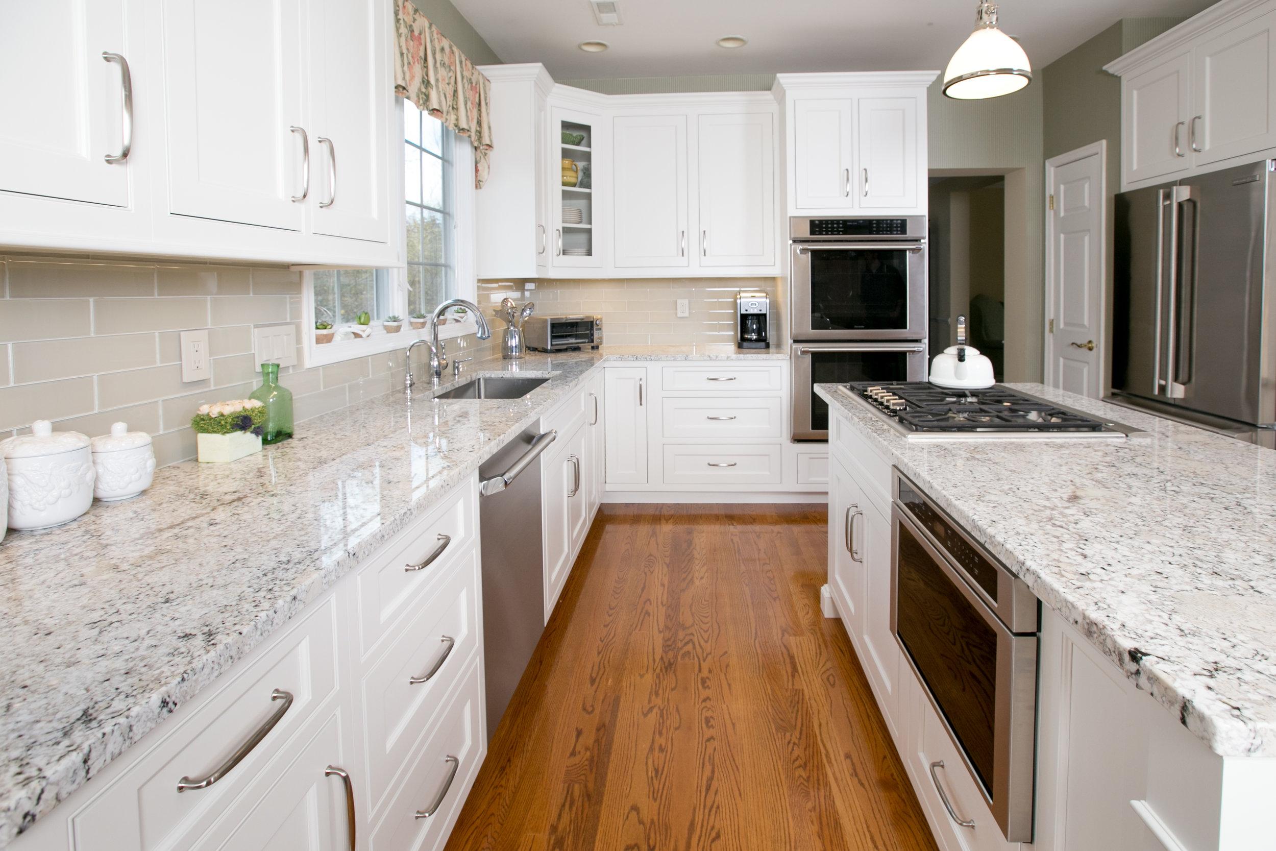 White Kitchen Island Drawer Microwave - Ackley Cabinet.jpg