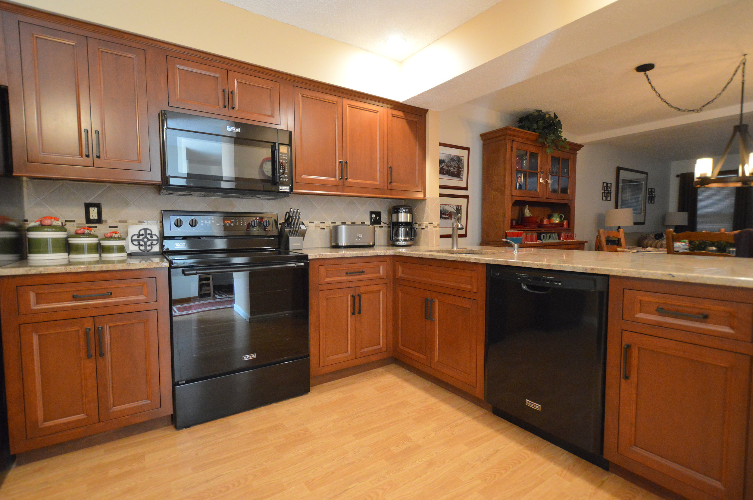 02-Ackley Cabinet - Custom Cherry Inset Cabinets.JPG