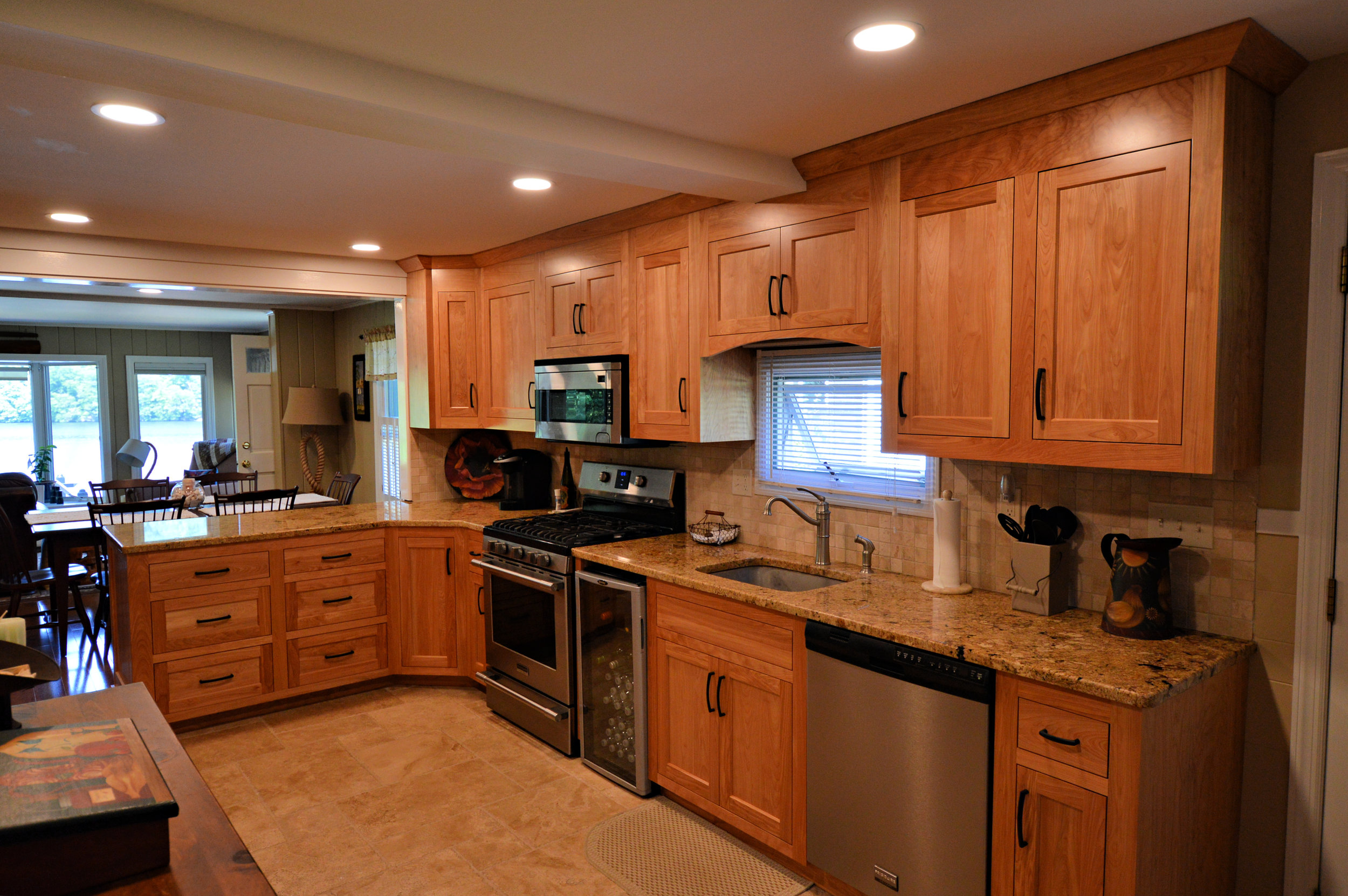 Danbury CT Custom Inset Red Birch Cabinets.jpg