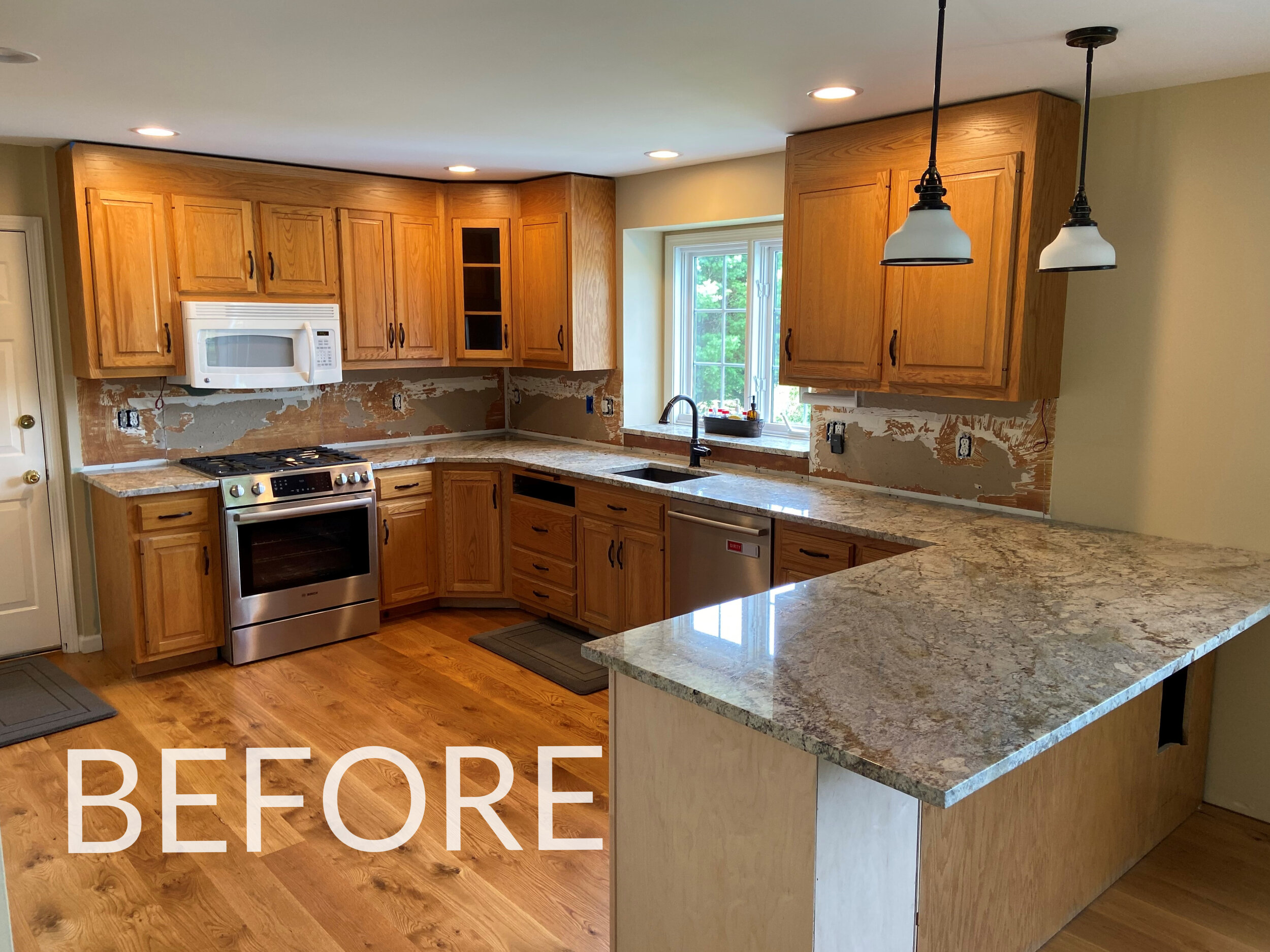 Before Afters Of Kitchen Cabinet Remodels Ackley Cabinet Llc