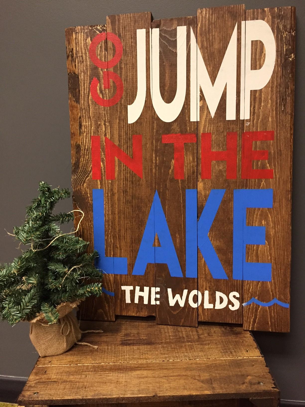 Go Jump in LAKE (BEGINNER)