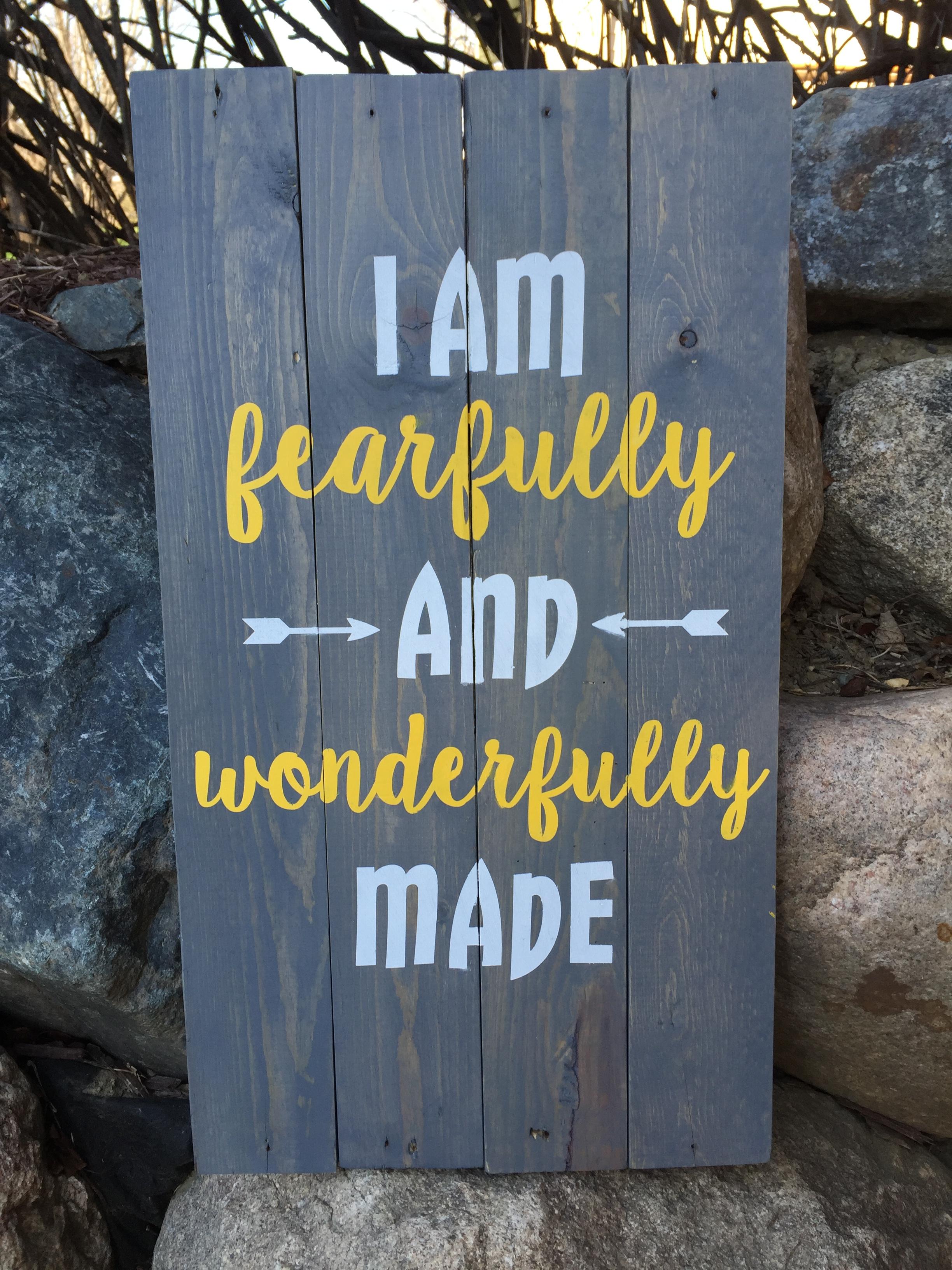fearfully & wonderfully made (INTERMEDIATE)