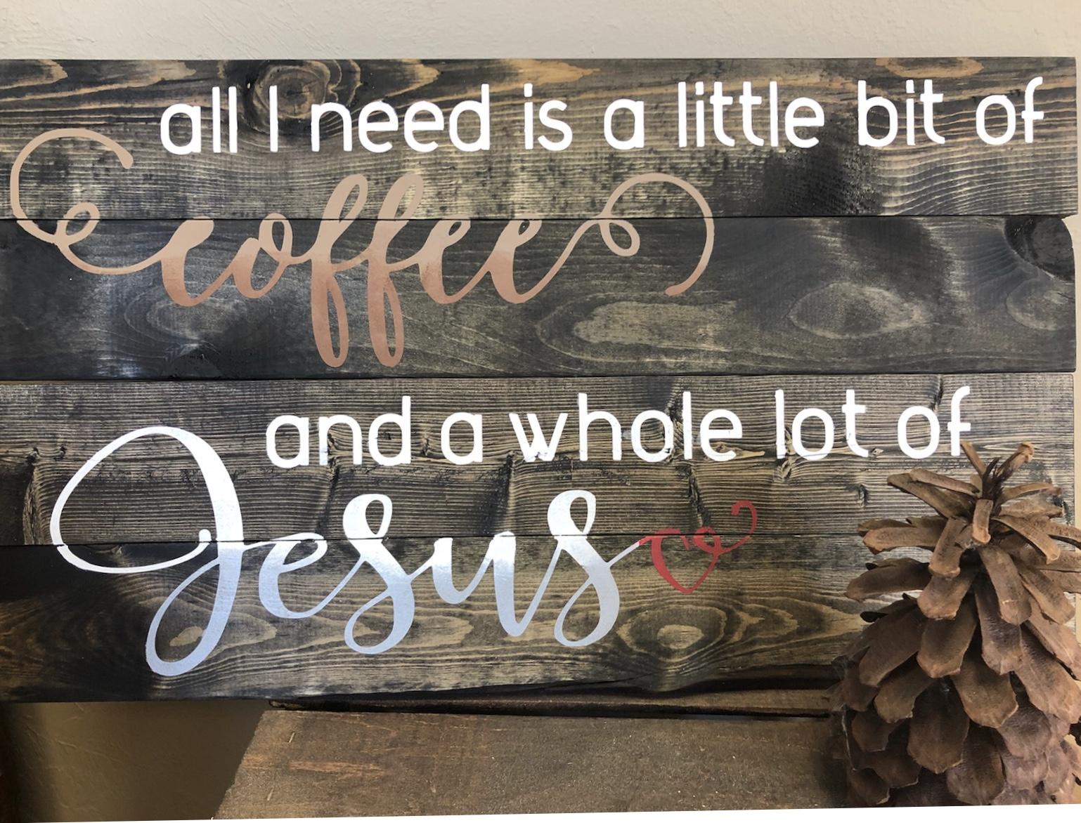 coffee & Jesus (INTERMEDIATE)