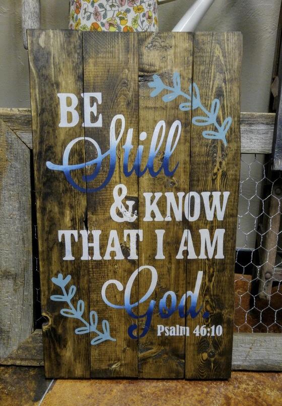 BE Still & KNOW (INTERMEDIATE)