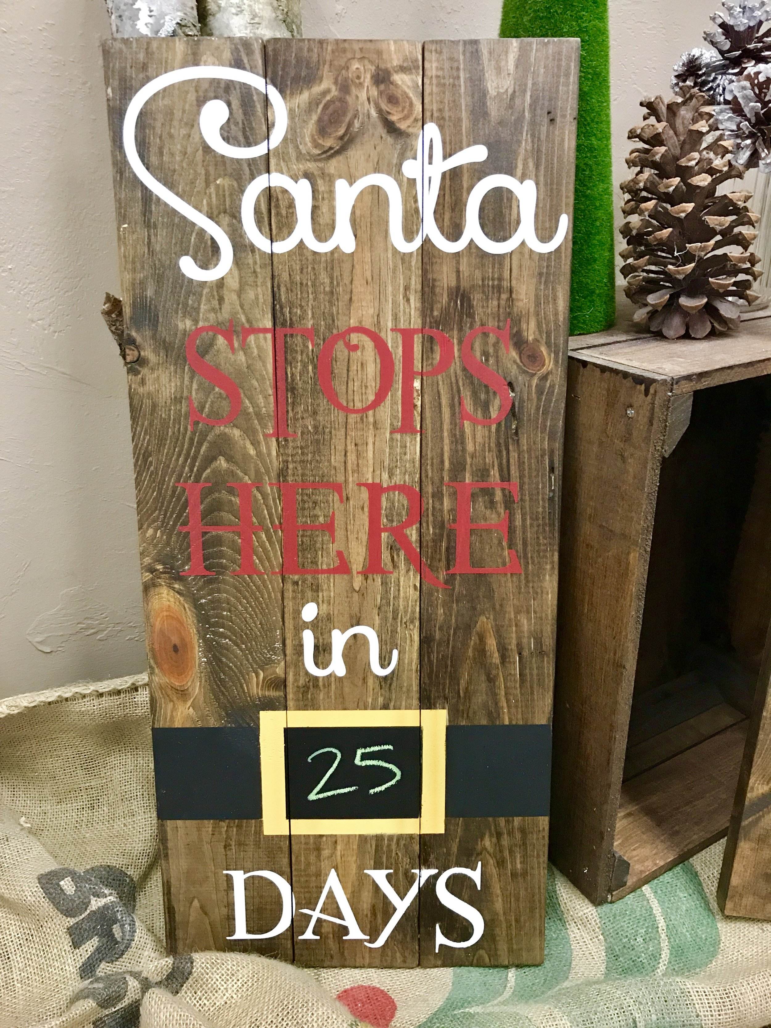 Santa stops HERE (BEGINNER)