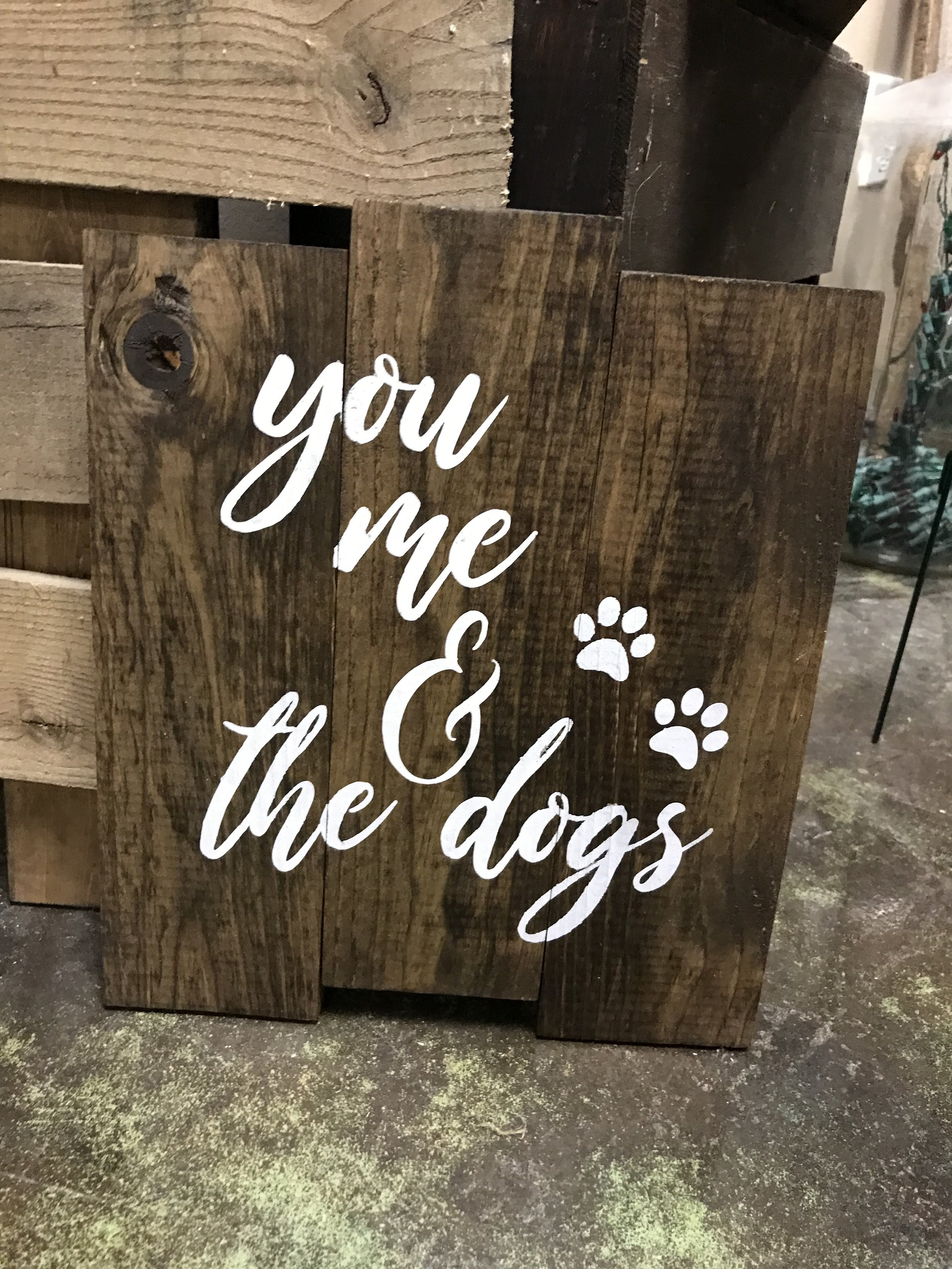you, me & the dogs (BEGINNER)