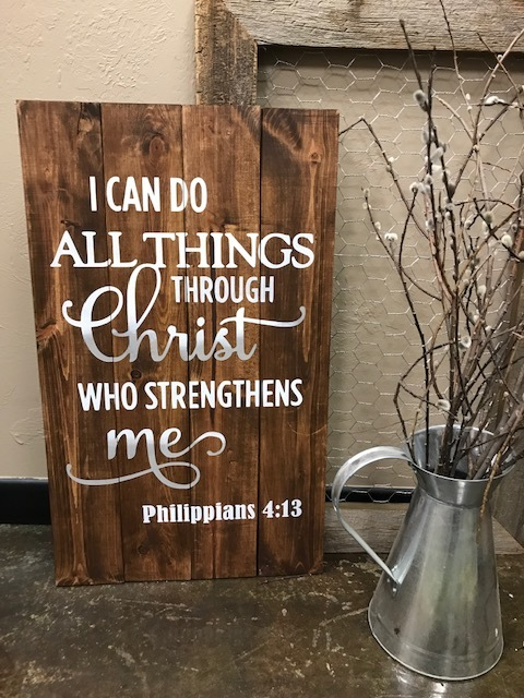I can do all things through Christ (EXPERT)
