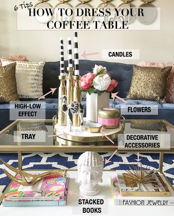 How To Style Your Coffee Table The Vogue Room