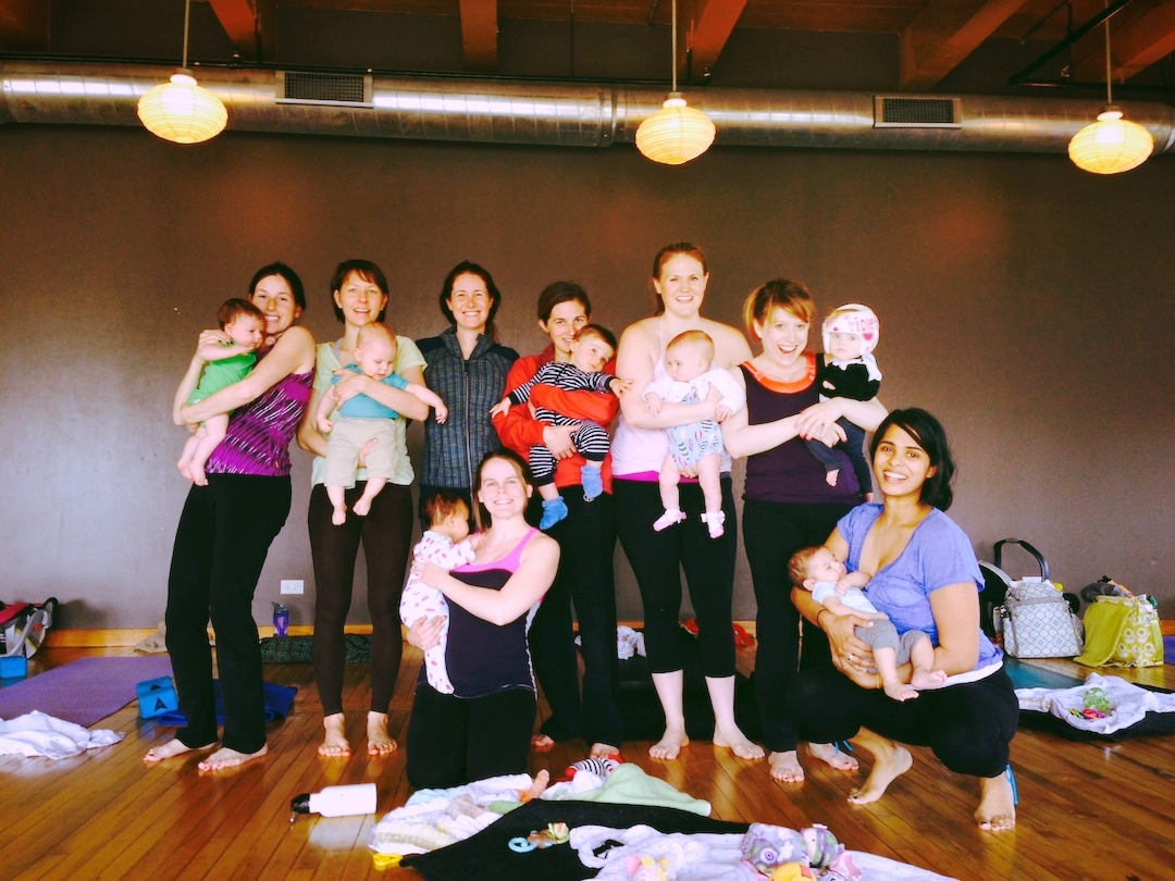 Amy Owen Mommy and Me Yoga Class in Chicago