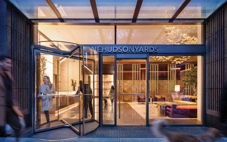 ONE HUDSON YARDS, INTERIORS, NEW YORK, NY