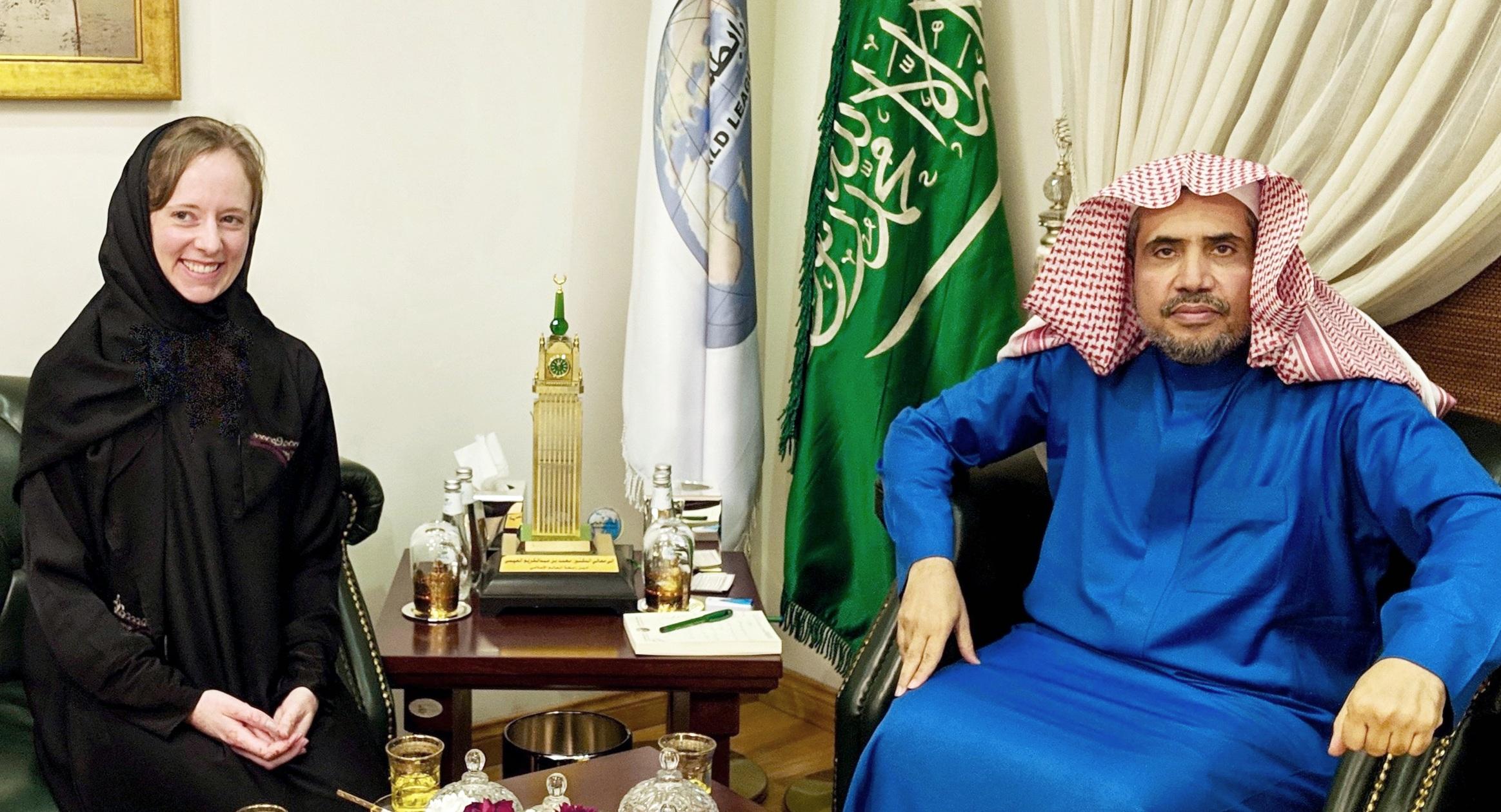 Interviewing Muhammad al-Issa, Secretary General of the Muslim World League, Riyadh, Saudi Arabia, March 2019