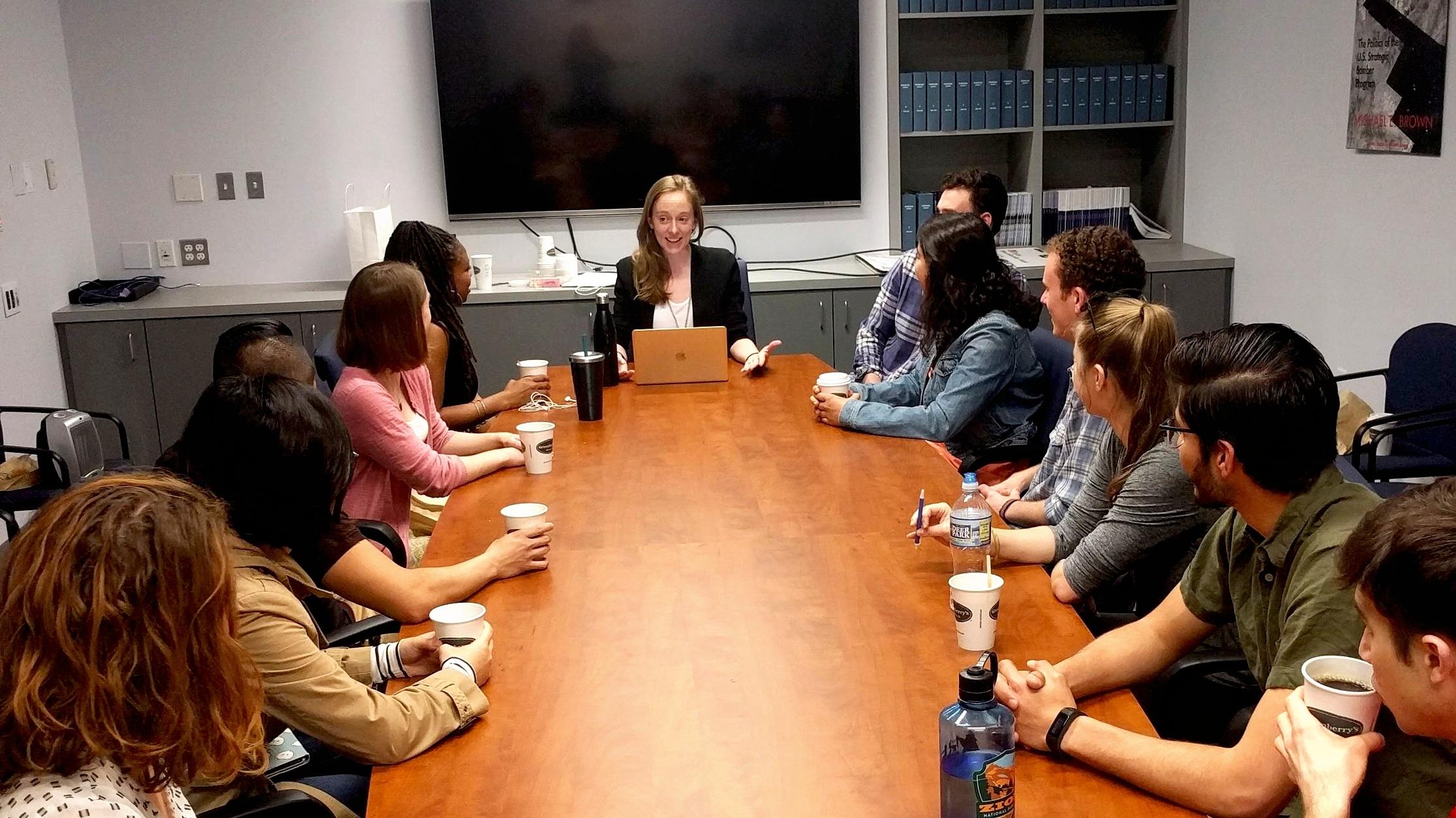 Teaching IAFF 3193W: Undergraduate Scholars Course, Elliott School of International Affairs, GWU, Washington DC, April 2018
