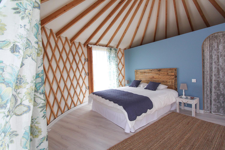 Yurt no Ribatejo