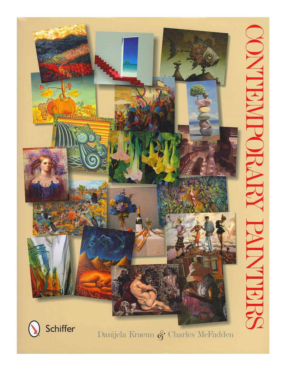 """CONTEMPORARY PAINTERS"" featuring paintings by Debbie Horton   Danijela Kracun ,  Charles McFadden   Schiffer Publishing, Limited, 2012"