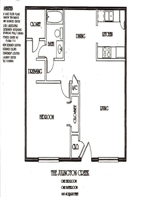 One Bedroom Apartment - One Bedroom Apartment