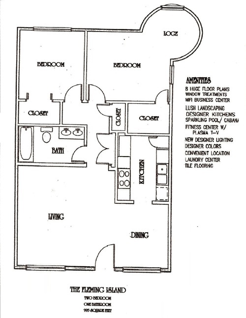 Two Bedroom Apartment - One Bedroom Apartment
