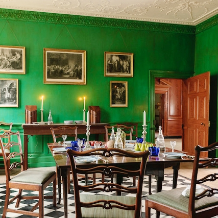 Mount Vernon dining room.