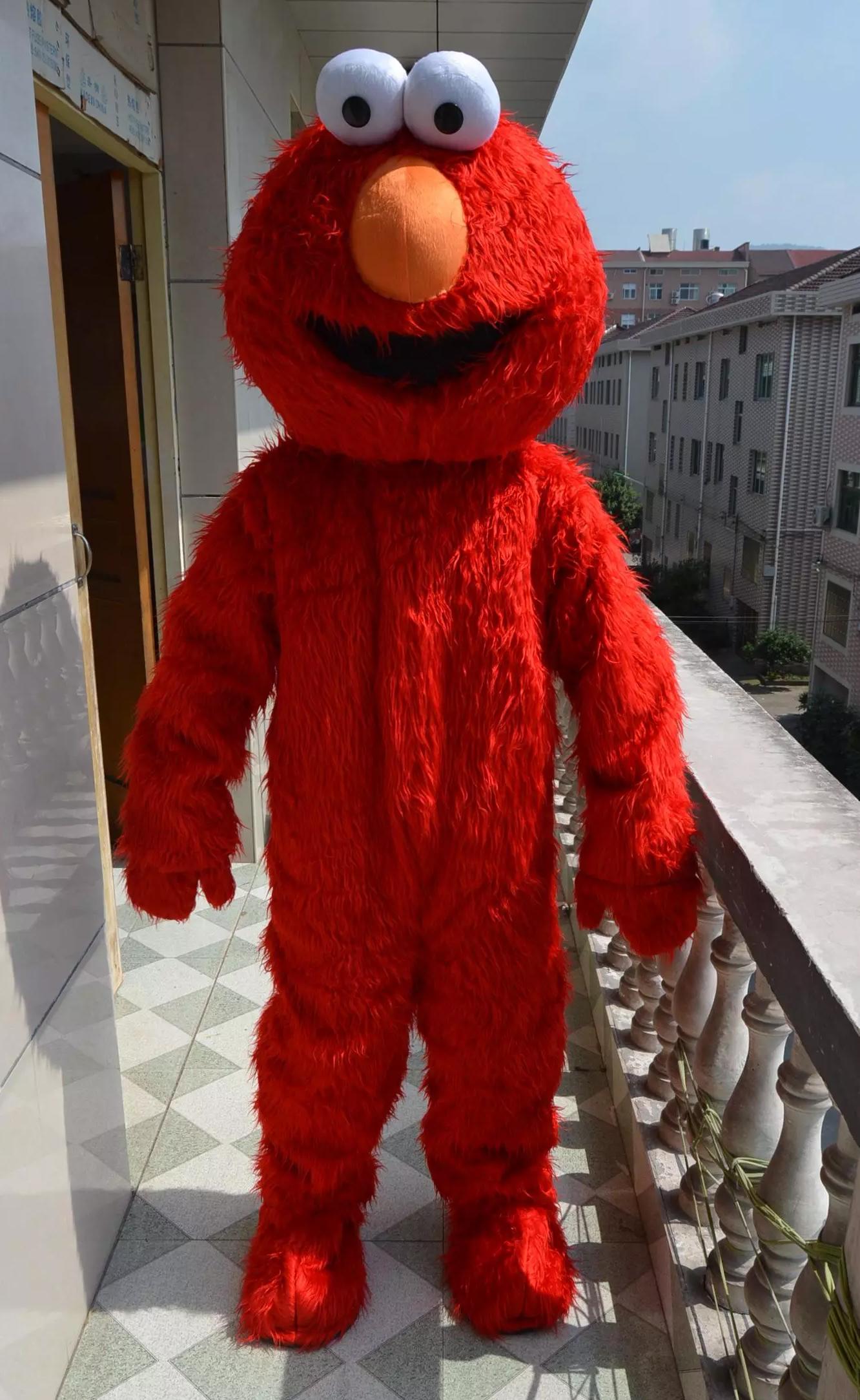 Red Monster Mascot