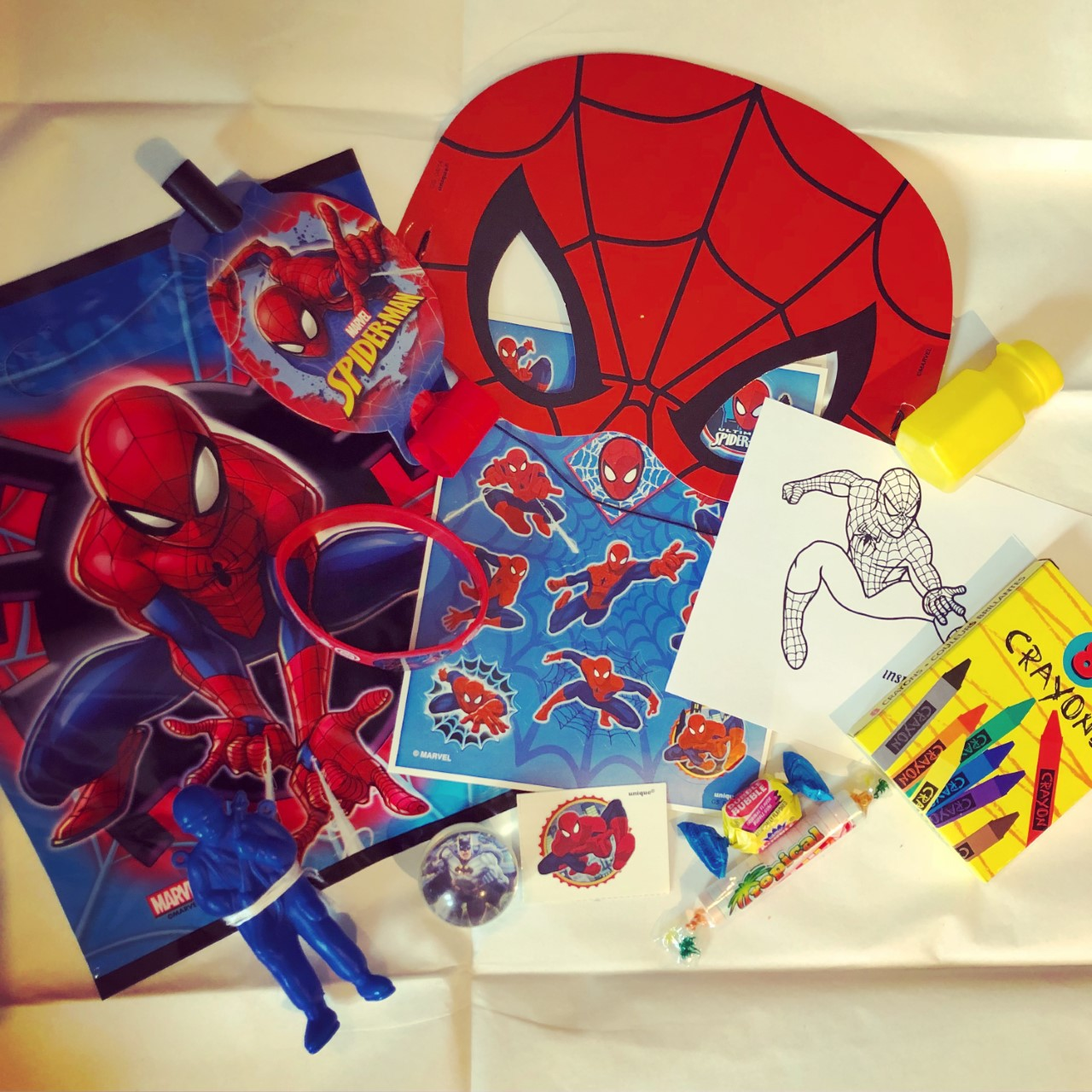 Superhero Loot Bags