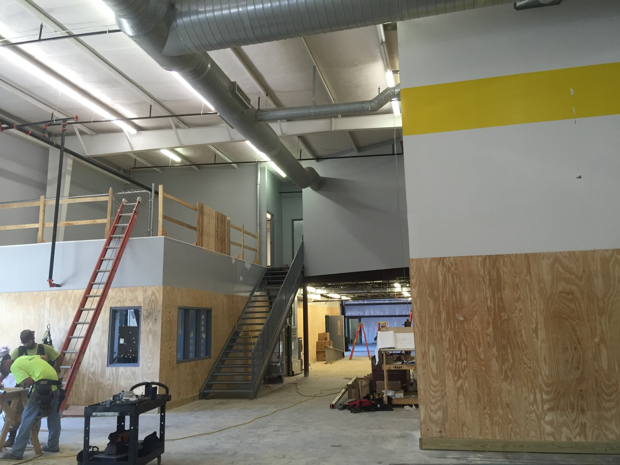 MedCenter Mazda's new body shop is nearing completion