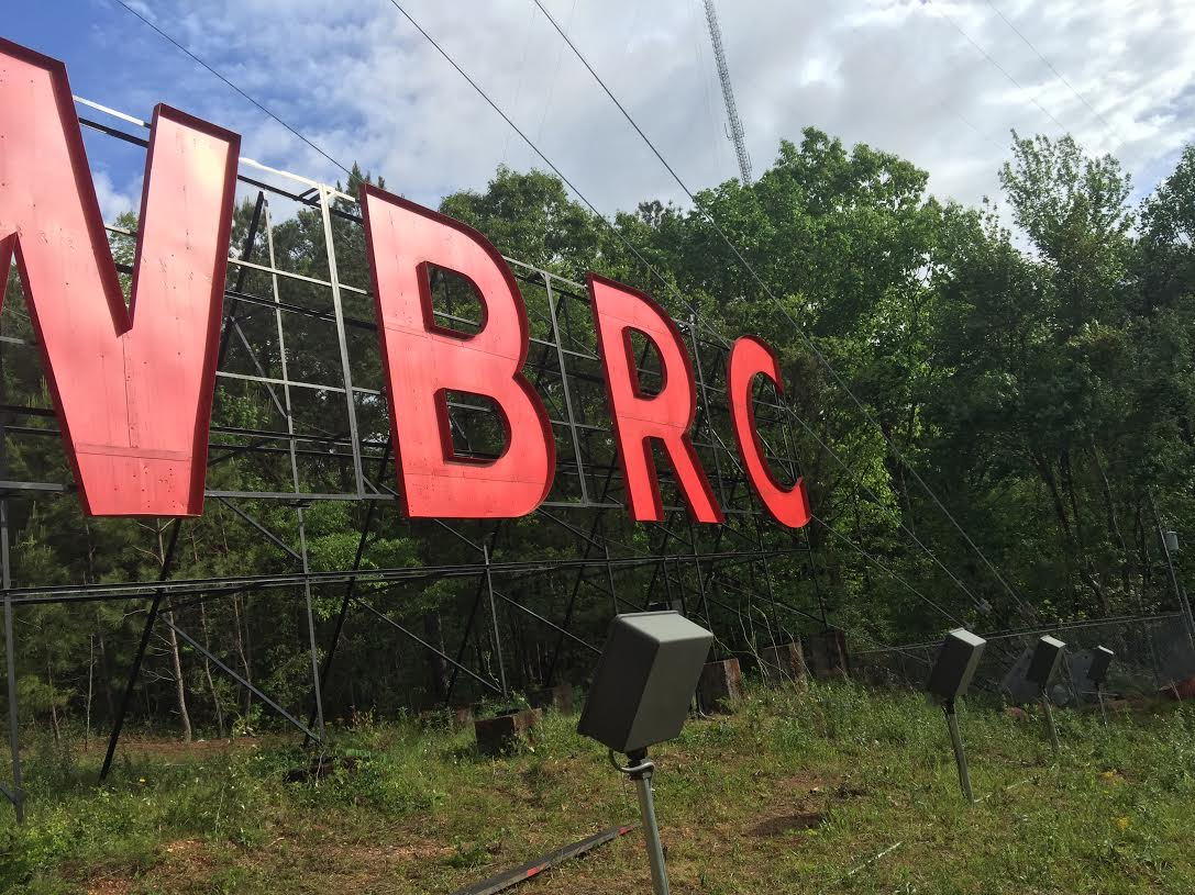 Craft Electric installed a new service for the lighting at the WBRC sign in Birmingham...the lights are on at the News station.