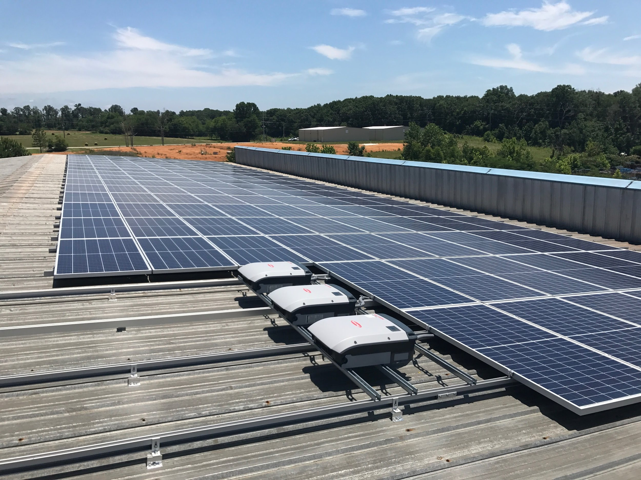 A beautiful sight in Alabama where solar has a ton of potential. Call today for Solar information on your building.