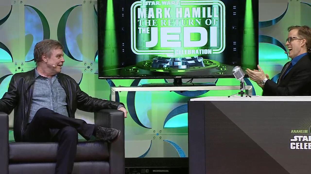 JAT and Mark Hamill Star Wars Celebration Anaheim 2015.