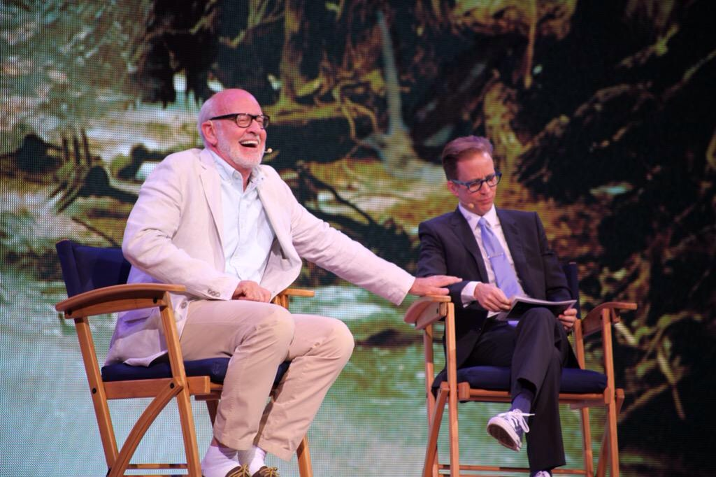 JAT and Frank Oz Disney's Star Wars Weekends 2015.