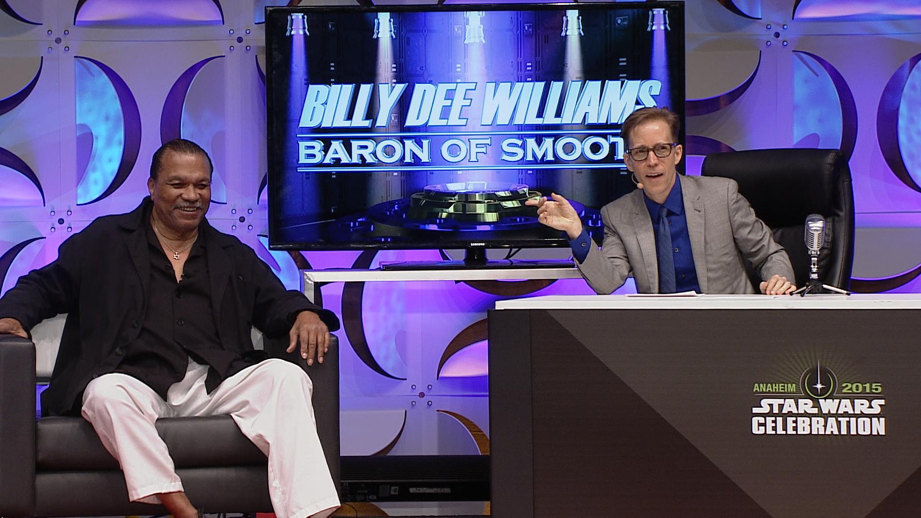 JAT and Billy Dee Williams Star Wars Celebration Anaheim 2015
