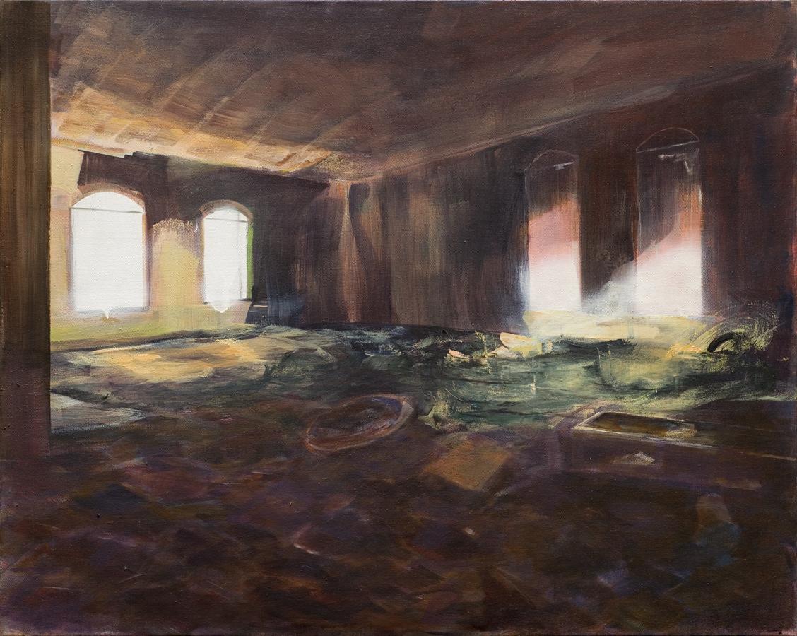 Los Gurriatos, olieverf op doek, 67 x 70 cm