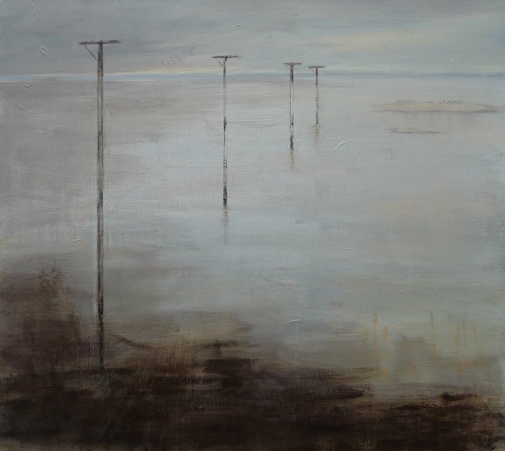 Bild  5, acryl op doek, 90 x 100 cm
