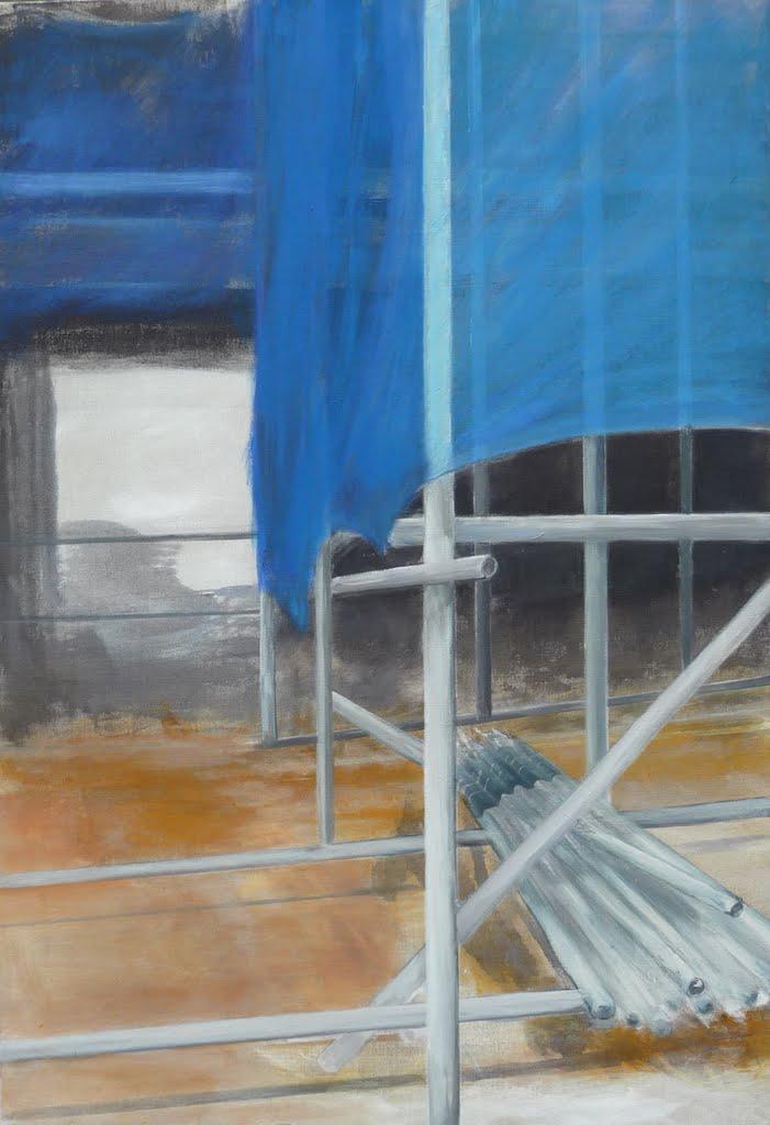 Bild 4, acryl op doek, 90 x 130 cm