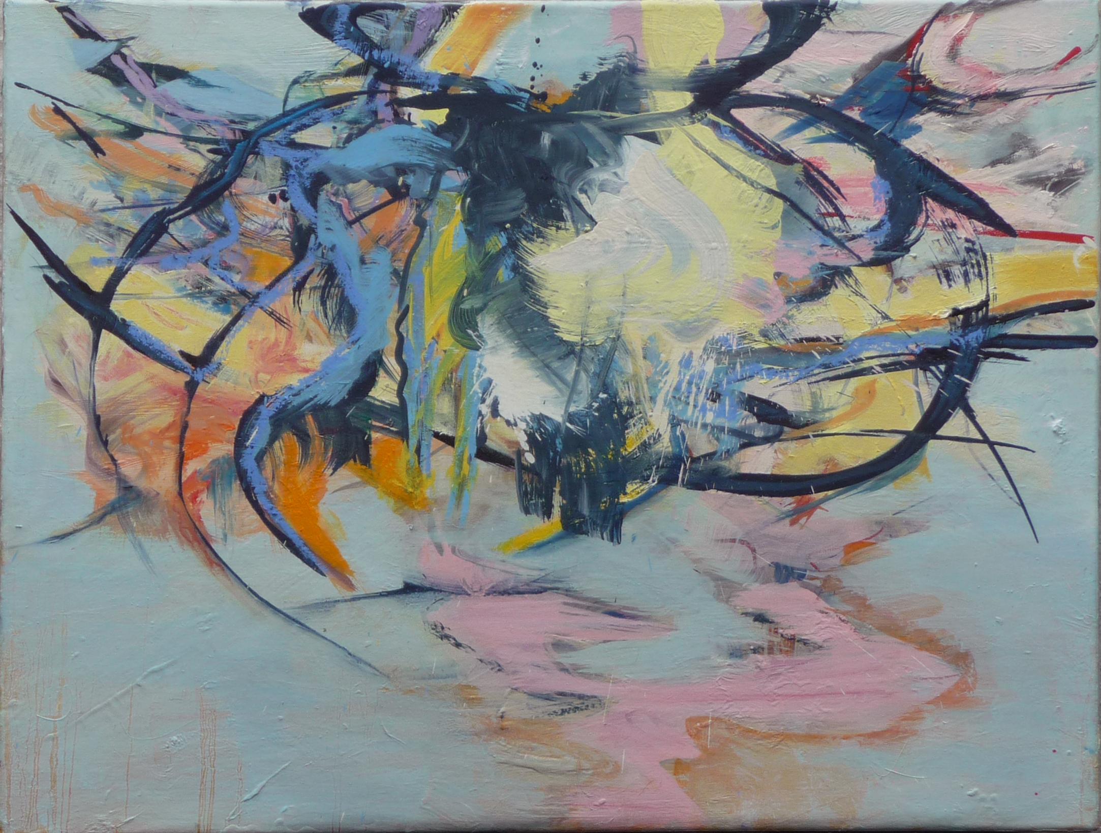 Image 4, olieverf op doek, 60 x 80 cm