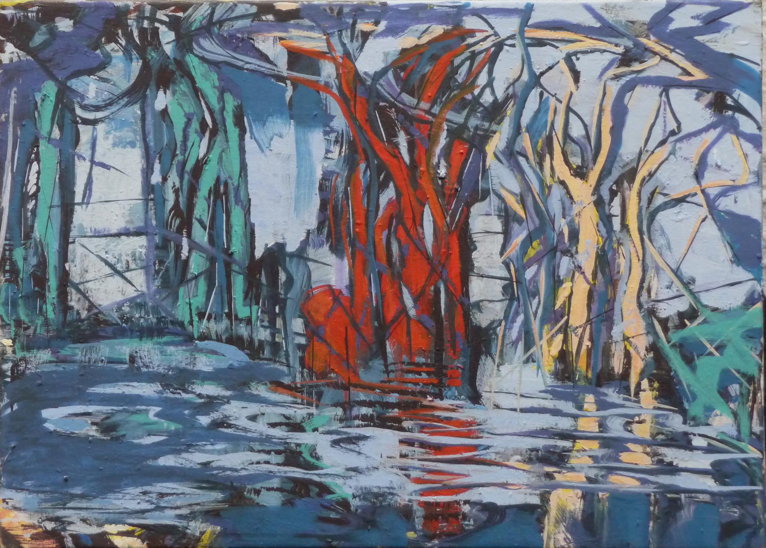 Image VI, Olieverf op doek, 50 x 70 cm