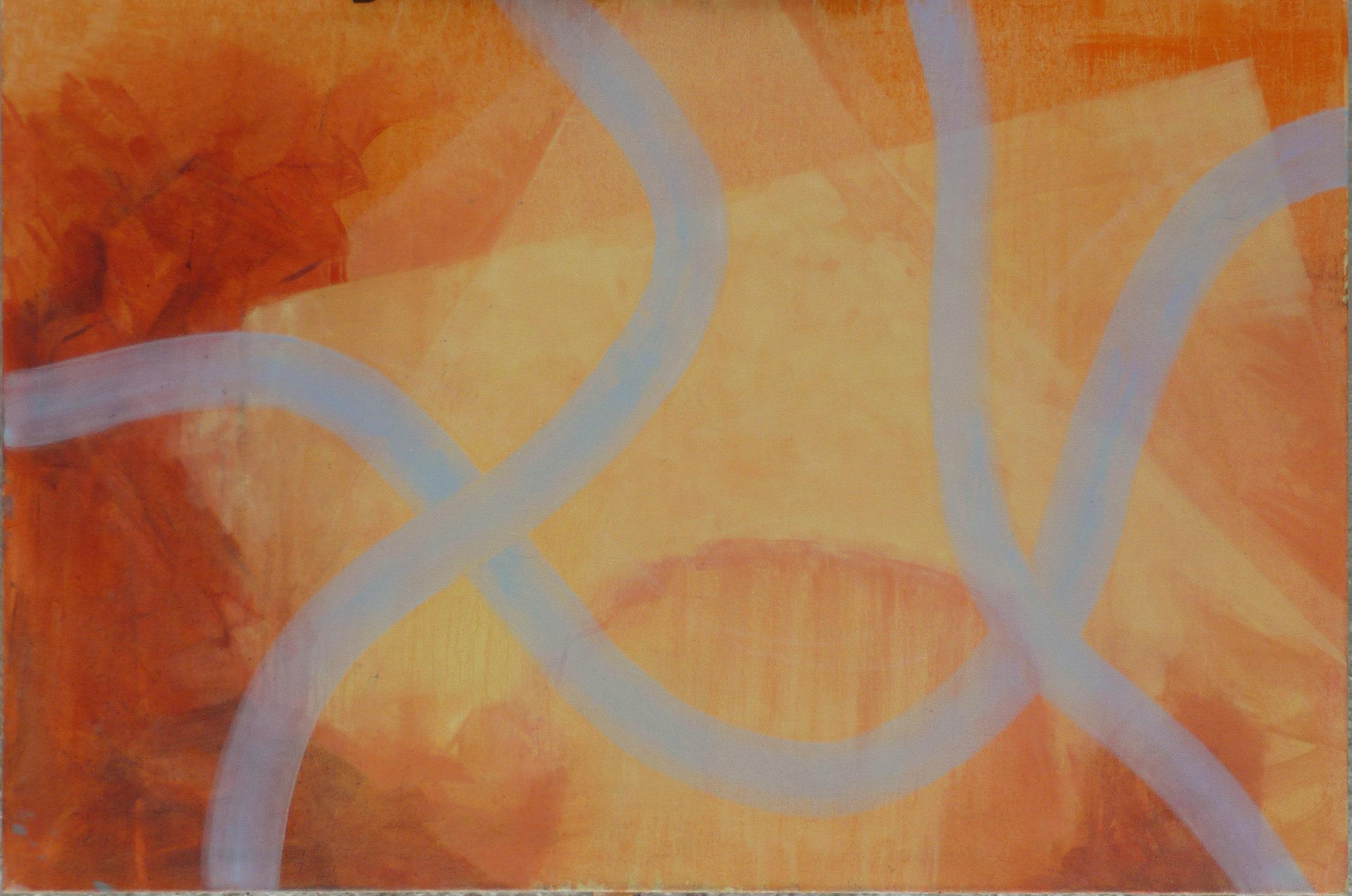 Schemenhaft ii, oil on canvas, 100 x 150 cm