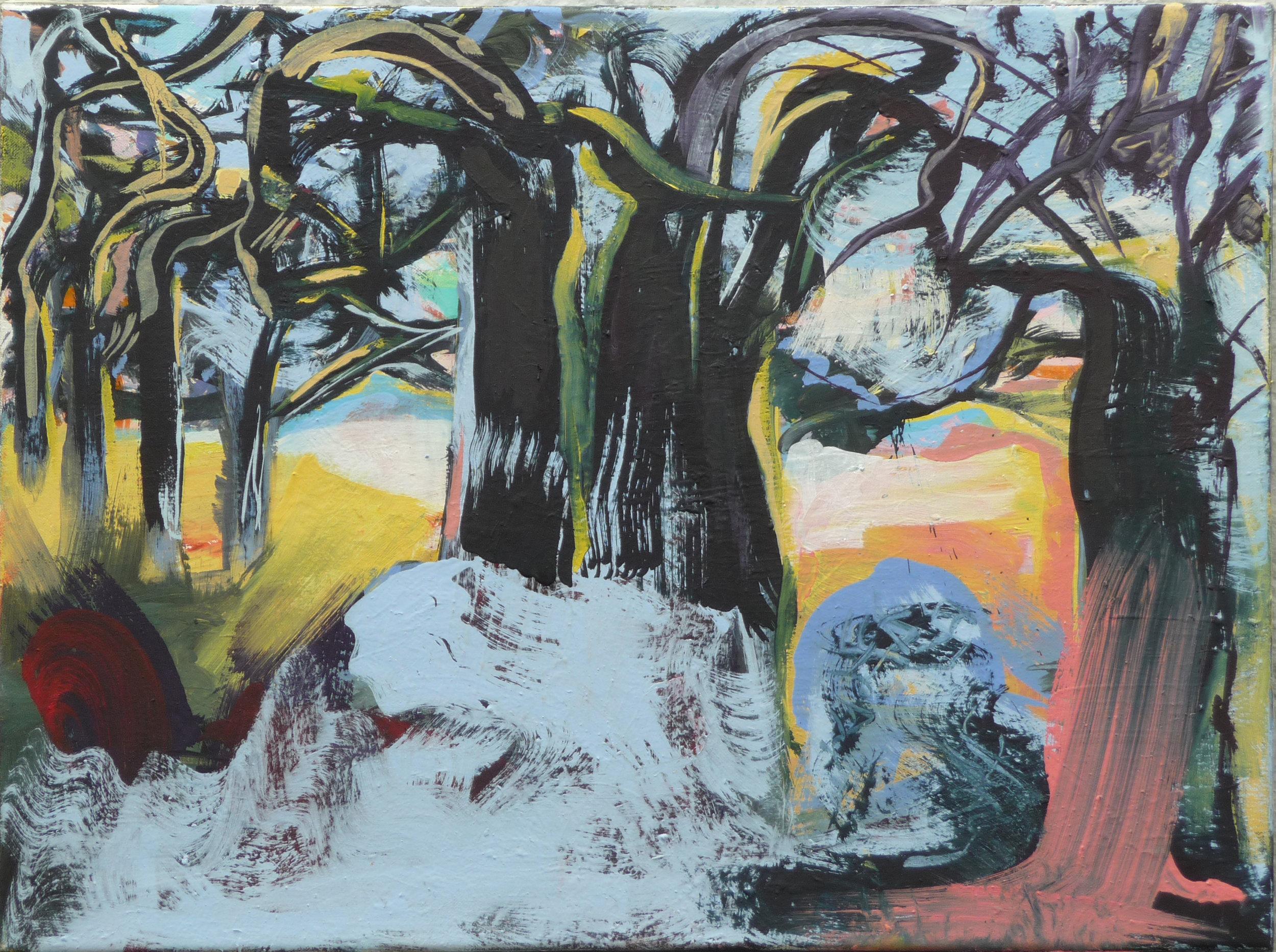 Image iV, oil on canvas, 70 x 90 cm