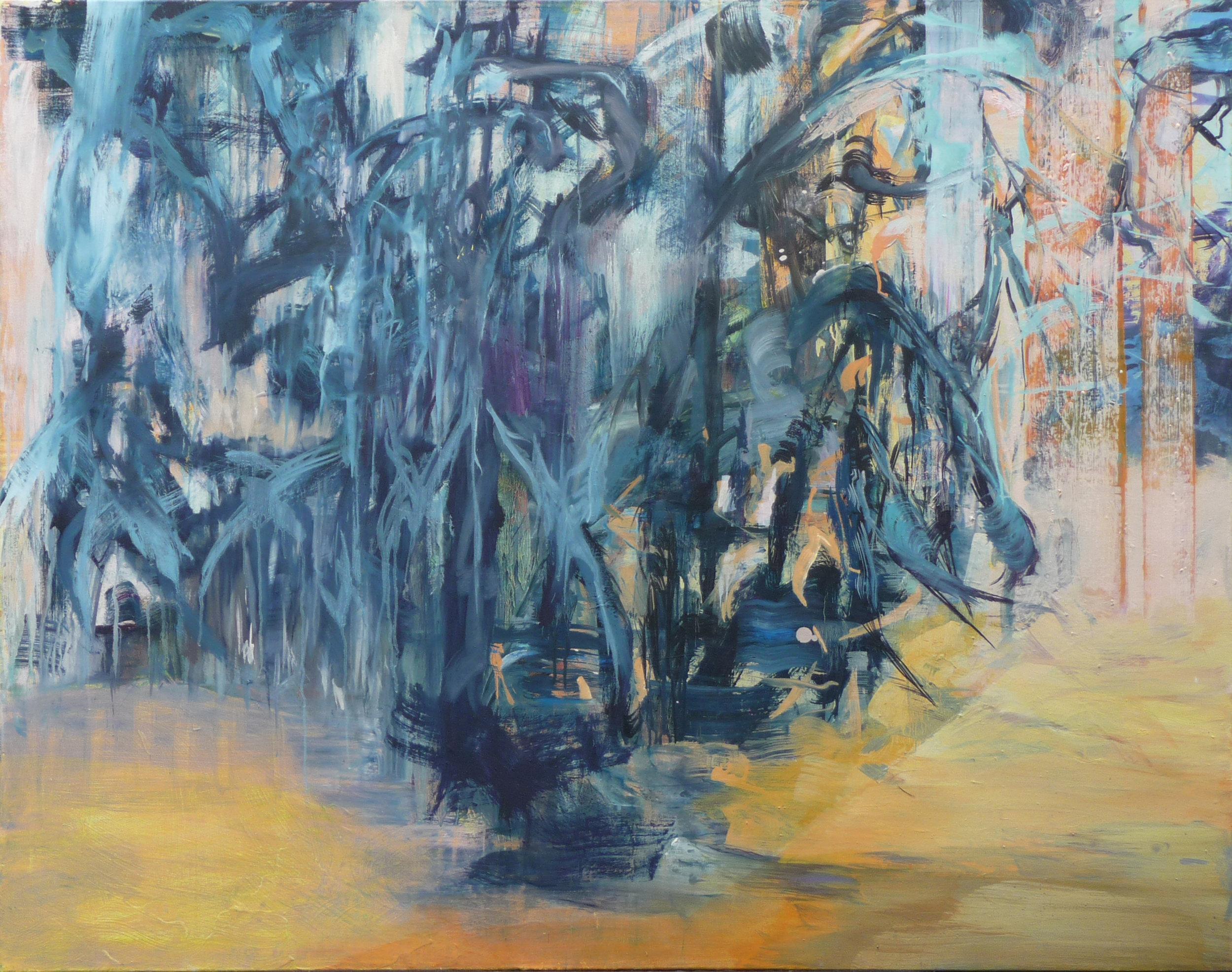 Verborgen Vii, oil on canvas, 110 x 140 cm